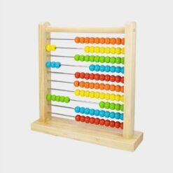 ξύλινο παιχνίδι άβακας αριθμητήριο