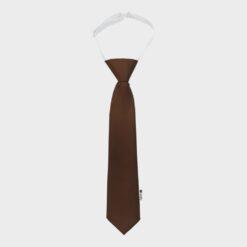 παιδική γραβάτα καφέ
