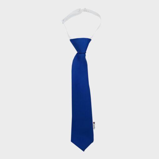 γραβάτα παιδική μπλε ρουά