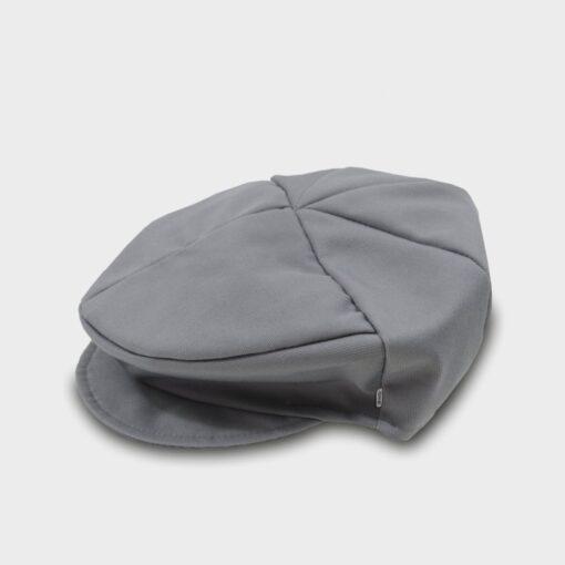 παιδική τραγιάσκα βαμβακερή γκρι σκούρο