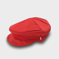 παιδική τραγιάσκα βαμβακερή κόκκινη