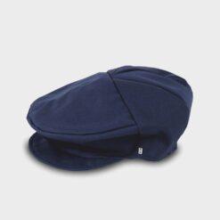 παιδική τραγιάσκα βαμβακερή μπλε σκούρο