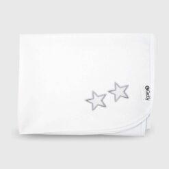 αδιάβροχο σελτεδάκι αλλαξιέρα λευκό με κέντημα
