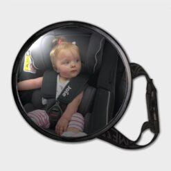 στρογγυλός καθρέπτης για το πίσω κάθισμα του αυτοκινήτου