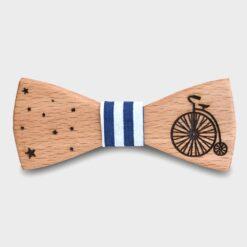 Ξύλινο Παπιγιόν Παιδικό Ποδήλατο Ρετρό
