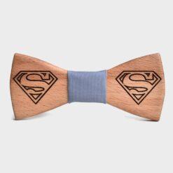 Ξύλινο Παπιγιόν Superman