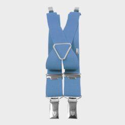 Παιδικές Τιράντες με 4 Κλιπς 25mm Γαλάζιο