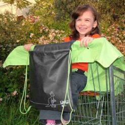 κάλυμμα για το σημείο που κάθεται το παιδάκι στο καρότσι του σούπερ μάρκετ